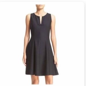 Kate Spade Fit And Flare Black Dress, Size 2, NWT